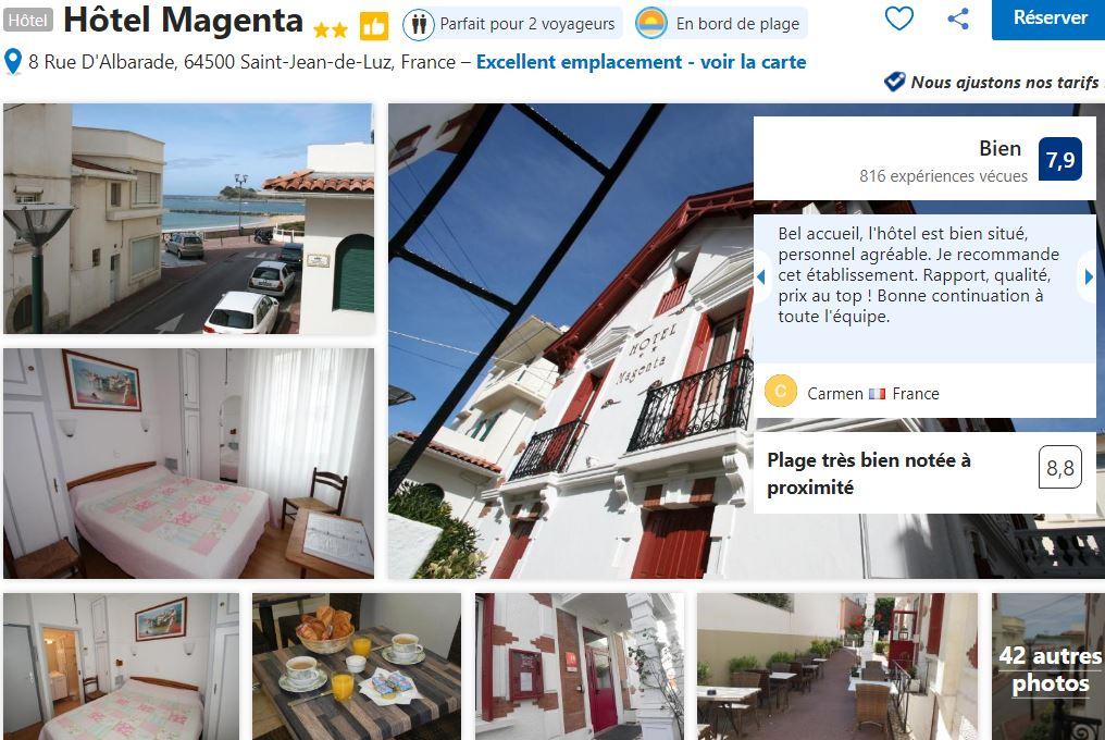 hotel-magenta-proche-plage-st-jean-de-luz