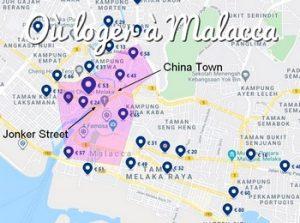 Où dormir à Malacca, dans quel quartier loger à Malacca